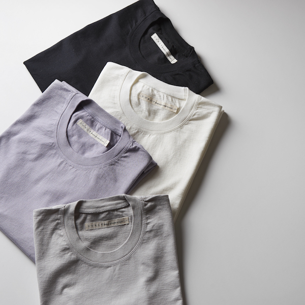 【18 SS】Curly(カーリー) HELICAL SS TEE  -3色展開(WHITE。、LAVENDER。、Lt GRAY)- #182-04041(2)