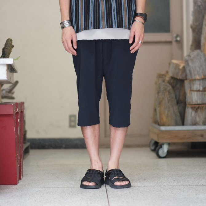 South2 West8(サウスツーウエストエイト) Cropped Boulder Pant [Poly Elastic Taffeta] -NAVY-  #CH767(2)