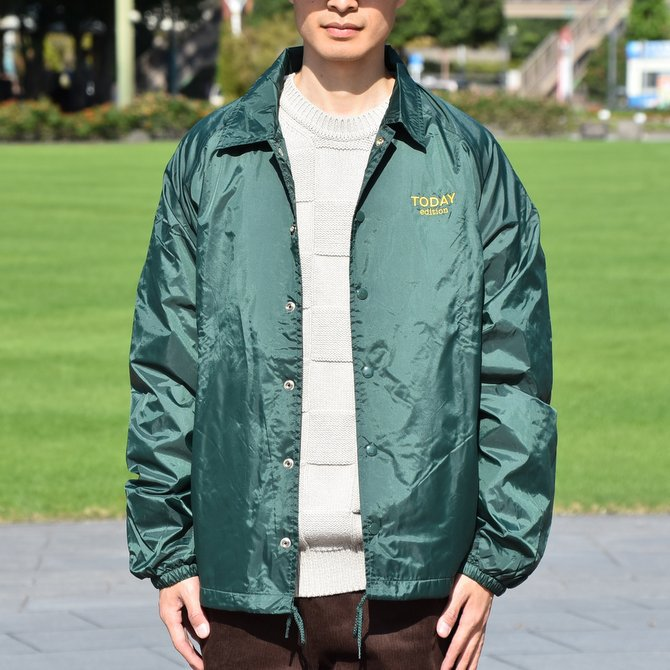 【2018 AW】 TODAY editon (トゥデイエディション) COACH JAKCET -DARK GREEN- #TE-20(2)