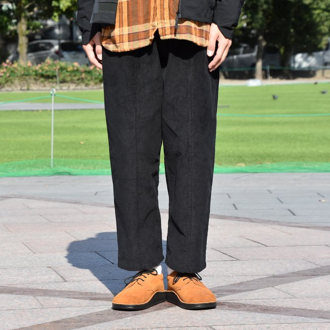 South2 West8(サウスツーウエストエイト) Army String Pant  [14W Corduroy] -BLACK-  #DI816(2)