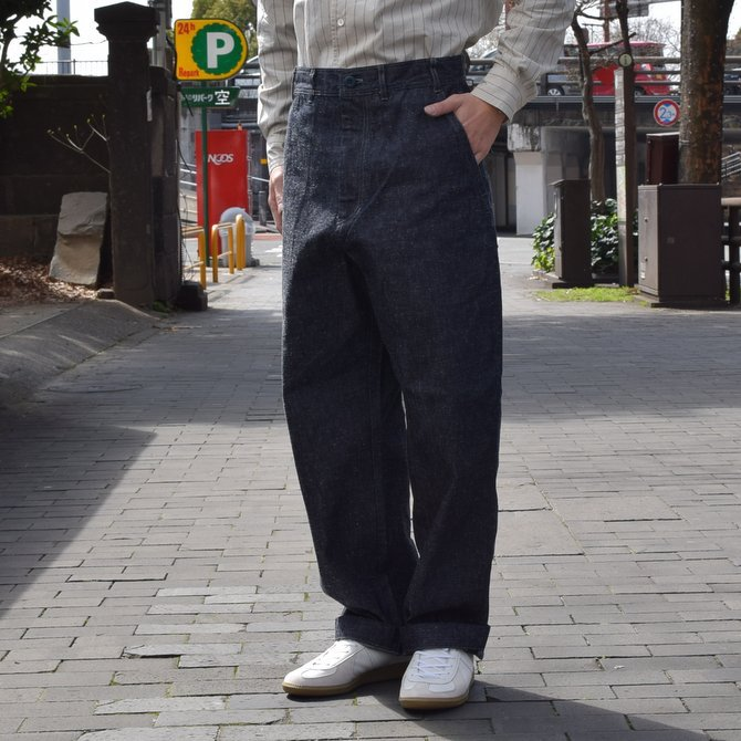 GOURMET JEANS(グルメジーンズ) FATIGUE -INDIGO- #GR-KH 003(2)