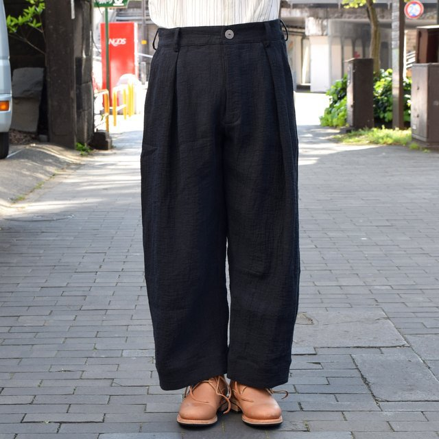 【2019 SS】 too good(トゥーグッド) / THE TINKER TROUSER DOUBLE CLOTH KINEN -FLINT- #62034990-19ss(2)