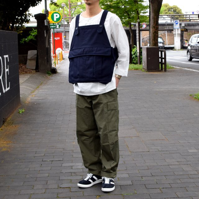【2019 SS】BROWN by 2-tacs SEED IT -NAVY- #B21-V002(2)