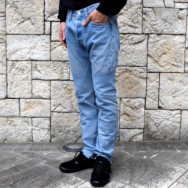 OLD PARK / SHIFT JEANS -BLUE- #OP-344(2)