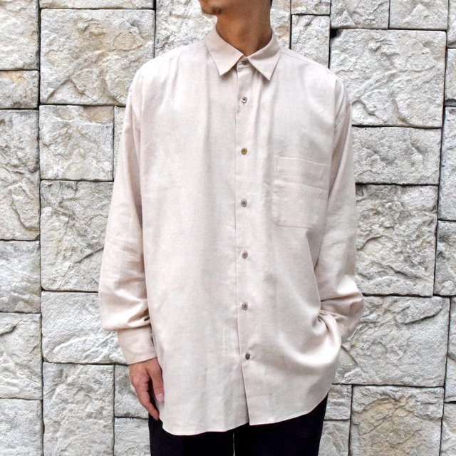 【30% off sale】【2019 AW 】 MARKAWARE(マーカウェア)/ ORGANIC COTTON OXFORD COMFORT FIT SHIRTS-NATURAL BROWN- #A19C-08SH01C(2)