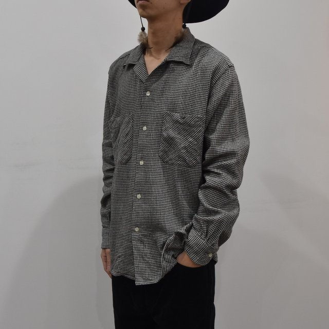 【2019 AW】 MOJITO(モヒート)/ ABSHINTH SHIRT Bar.2.0 -HOUNDS TOOTH (09)- #2094-1101(2)