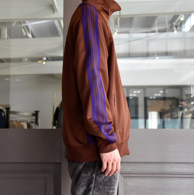 NEEDLES(ニードルス) TRACK JACKET-POLY SMOOTH-BROWN/#FK192(2)