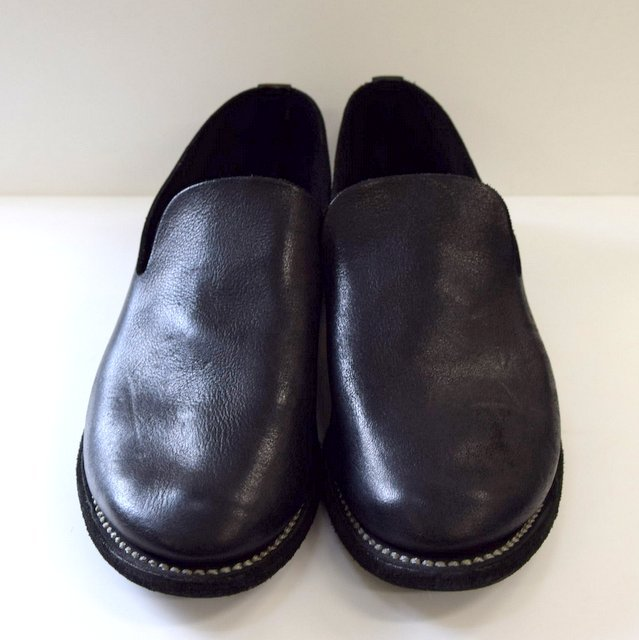 GUIDI(グイディ) SLIP-ON SHOES -BLACK- #E28M(2)