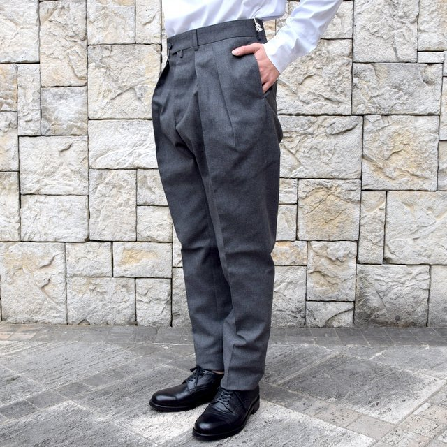 【2020 SS】NEAT(ニート)/ HOPSACK ''TAPERED'' -GRAY- #20-01HST-GR(2)