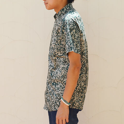 【20% off sale】Carhartt(カーハート) S/S Camo Stain Shirt -Camo Stain Leaf-(3)