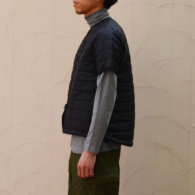 MASTER&Co.(マスターアンドコー) THINSULATE S/S INNER DOWN -(99)BLACK-(3)