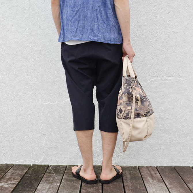 HENRY BEGUELIN(エンリーベグリン) New Sacca Shopping tessutoe etn -Acacia-(3)