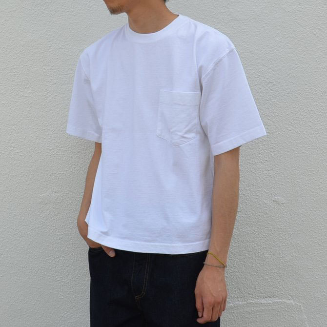 CAMBER(キャンバー) MAX WEIGHT POCKET TEE -WHITE-(3)