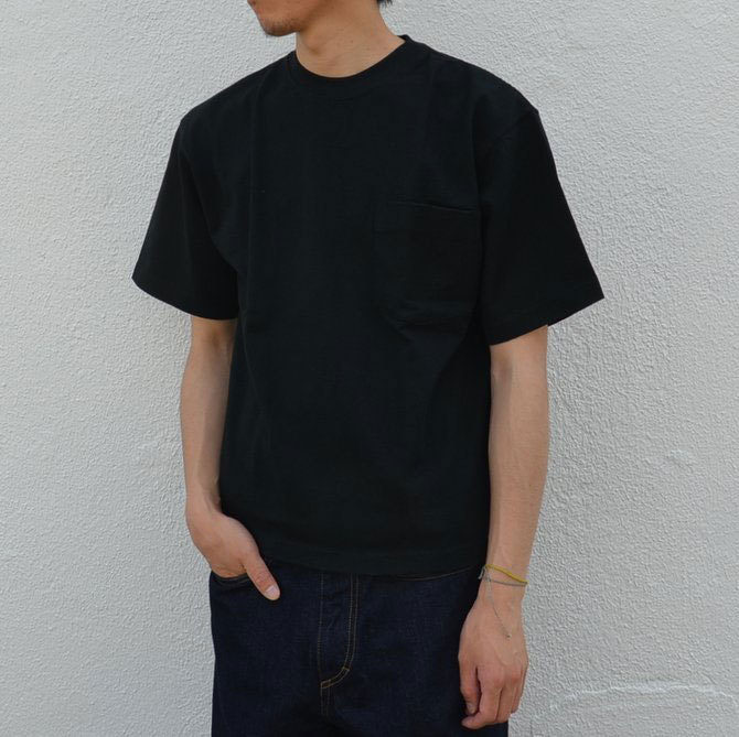 CAMBER(キャンバー) MAX WEIGHT POCKET TEE -BLACK-(3)