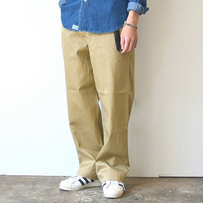 orSlow(オアスロウ)/ VINTAGE FIT ARMY TROUSE -(40)KHAKI- #03-V5361-40(3)