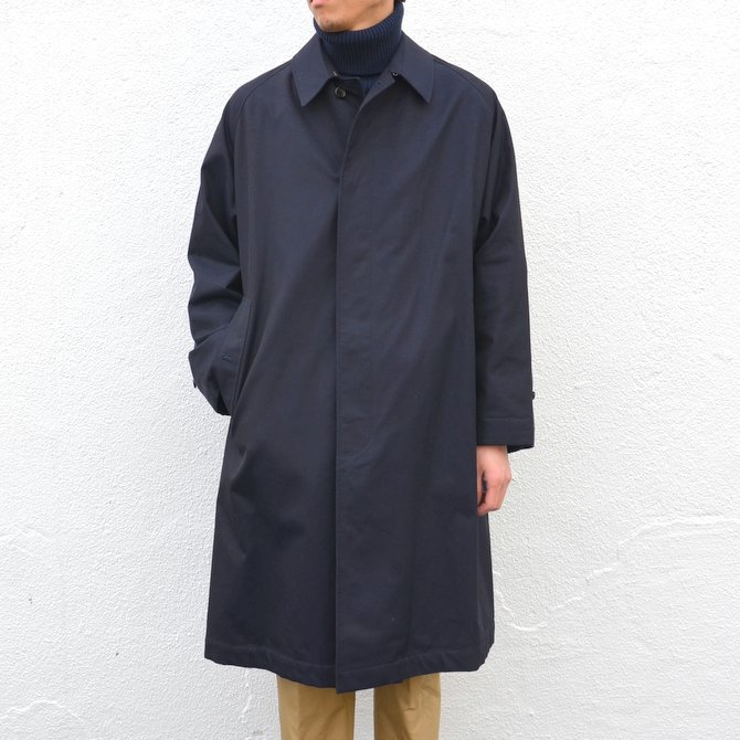 ANATOMICA(アナトミカ)/ SINGLE RAGLAN COAT GABARDINE -(500)NAVY- #530-511-06(3)