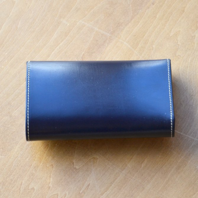 Whitehouse Cox (ホワイトハウスコックス)  3FOLD WALLET BRIDLE S7660 -NAVY-(3)