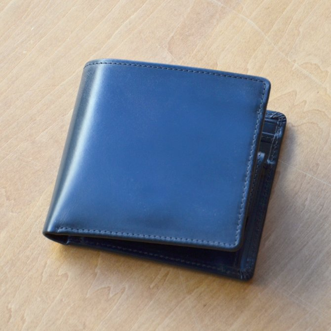 Whitehouse Cox (ホワイトハウスコックス)  COIN WALLET BRIDLE S7532 -BLACK-(3)