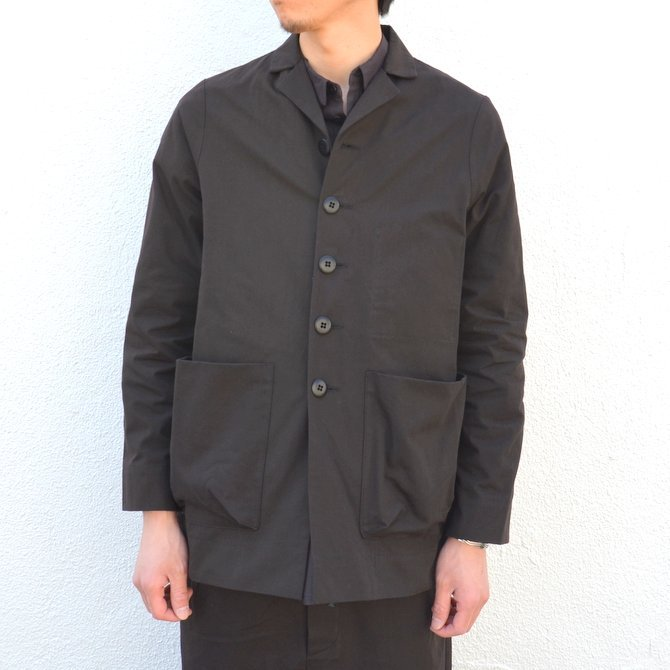 too good(トゥーグッド) / THE PHOTOGRAPHER JACKET PLAIN COTTON -SOOT-(3)