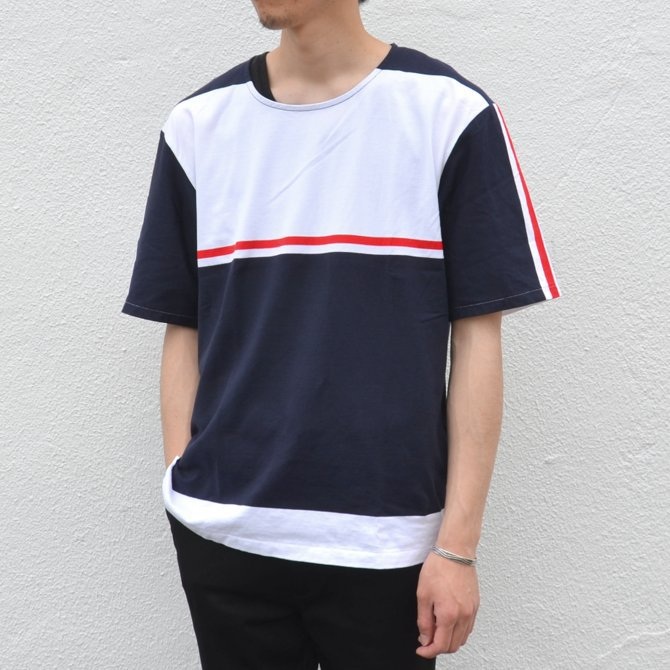 【40% off sale】semoh(セモー)/ S/S TEE -BORDER- #11-3-02(3)