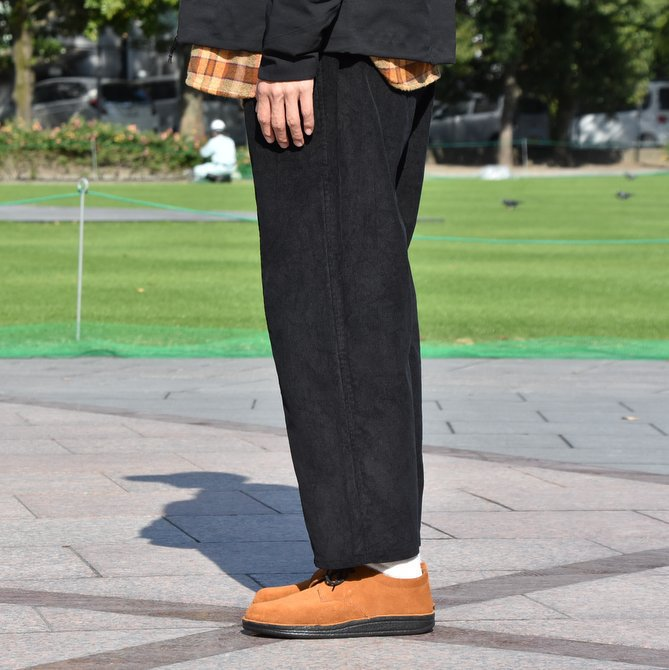 South2 West8(サウスツーウエストエイト) Army String Pant  [14W Corduroy] -BLACK-  #DI816(3)