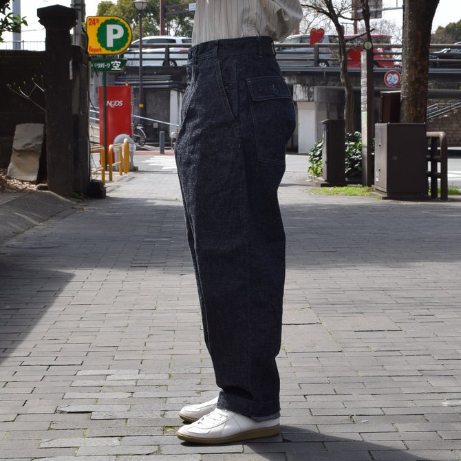 GOURMET JEANS(グルメジーンズ) FATIGUE -INDIGO- #GR-KH 003(3)