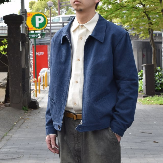 【30% off sale 】FRANK LEDER(フランクリーダー) COTTON SPADE JACKET -(39)NAVY- #0612009-39(3)