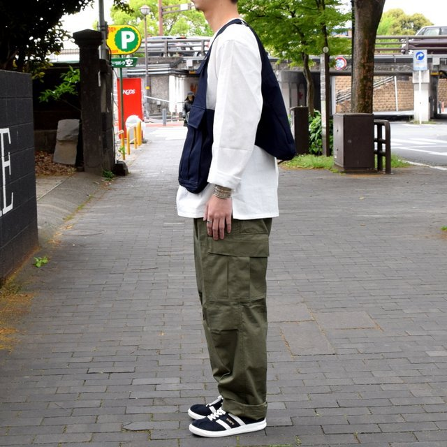 【2019 SS】BROWN by 2-tacs SEED IT -NAVY- #B21-V002(3)