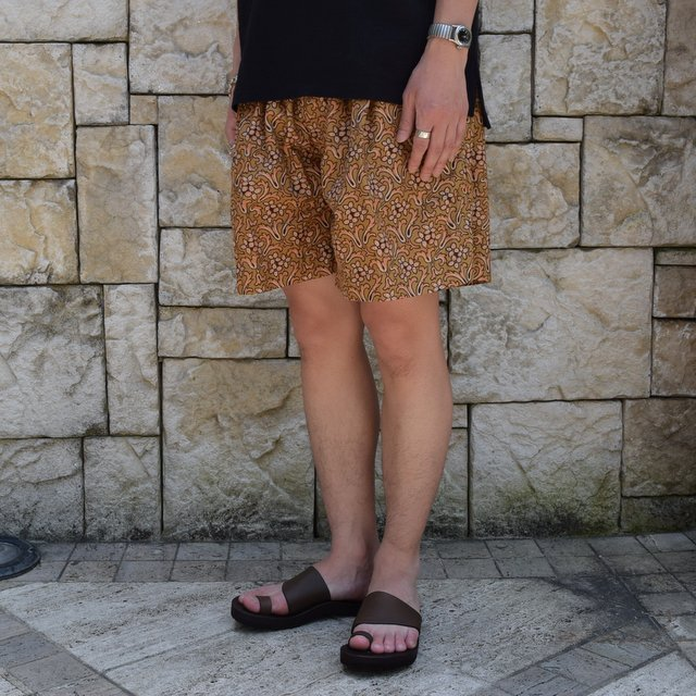 【30% off sale 】KAPTAIN SUNSHINE (キャプテンサンシャイン)/Athletic Wide Shorts -Sand Beige- #KS9SPT15(3)