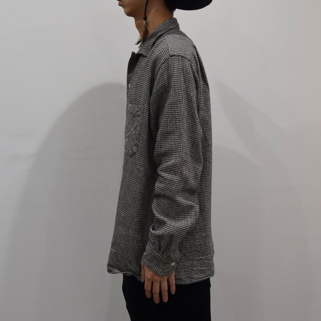 【2019 AW】 MOJITO(モヒート)/ ABSHINTH SHIRT Bar.2.0 -HOUNDS TOOTH (09)- #2094-1101(3)