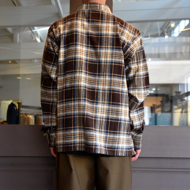 South2 West8(サウスツーウエストエイト) SMOKEY SHIRT-TWILL/PLAID #FK841(3)