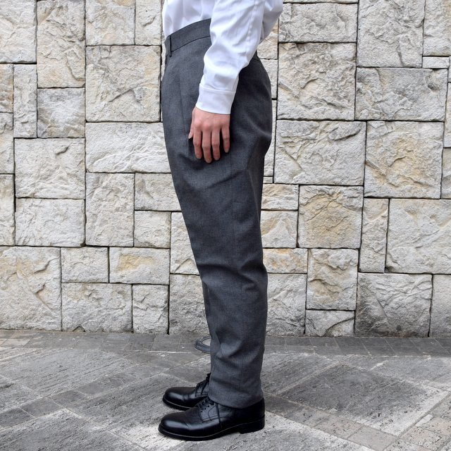 【2020 SS】NEAT(ニート)/ HOPSACK ''TAPERED'' -GRAY- #20-01HST-GR(3)