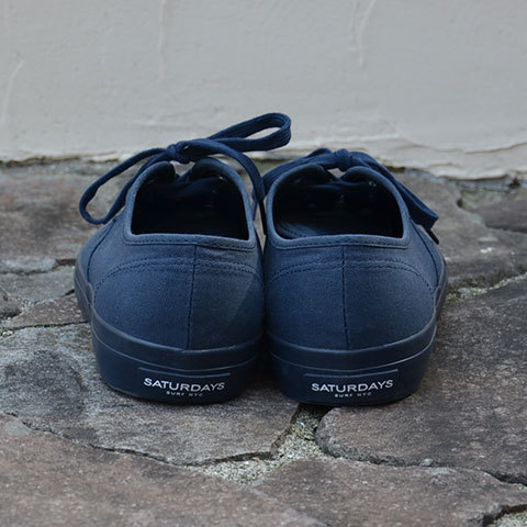 SATURDAYS SURF NYC(サタデーズサーフ NYC)JAY FOOT WEAR -Navy- (4)