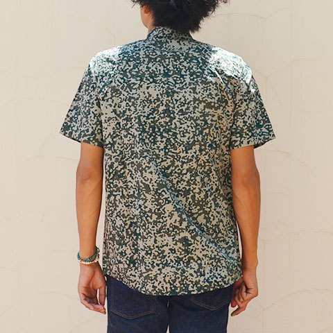 【20% off sale】Carhartt(カーハート) S/S Camo Stain Shirt -Camo Stain Leaf-(4)