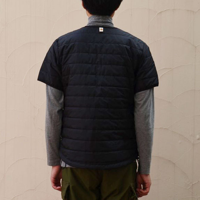 MASTER&Co.(マスターアンドコー) THINSULATE S/S INNER DOWN -(99)BLACK-(4)