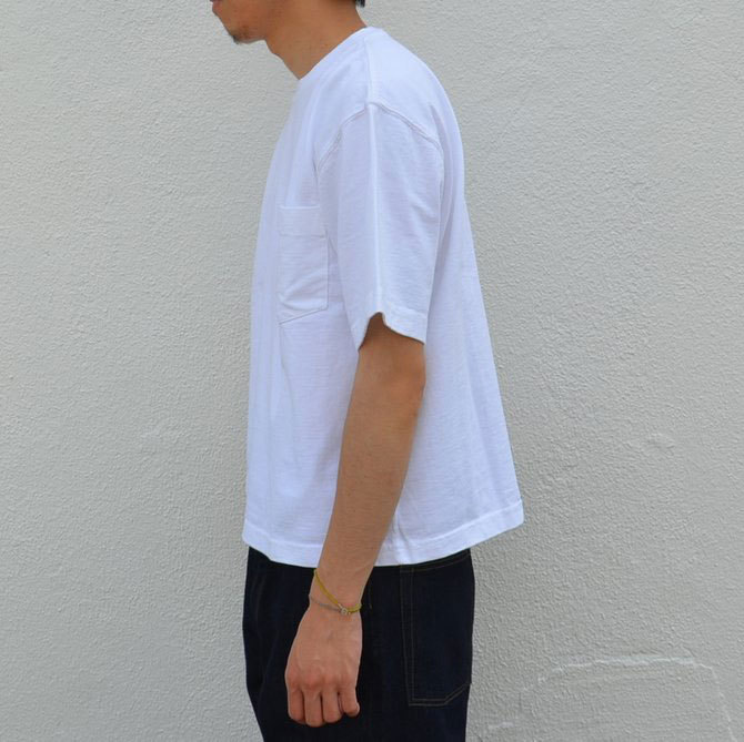 CAMBER(キャンバー) MAX WEIGHT POCKET TEE -WHITE-(4)