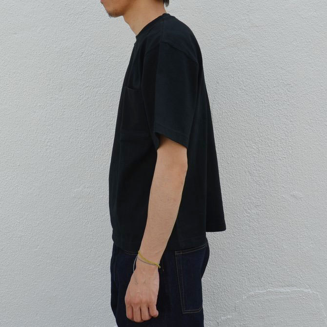CAMBER(キャンバー) MAX WEIGHT POCKET TEE -BLACK-(4)