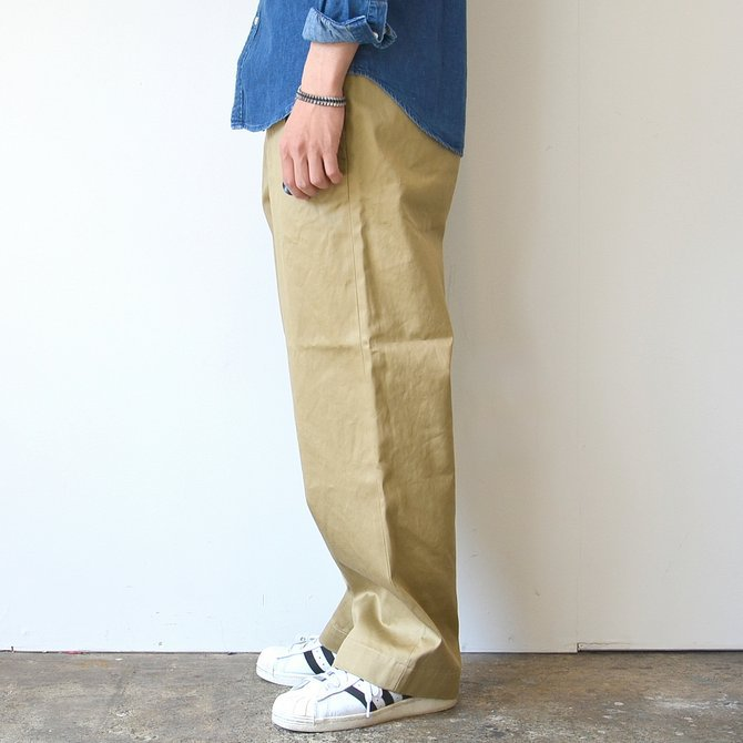 orSlow(オアスロウ)/ VINTAGE FIT ARMY TROUSE -(40)KHAKI- #03-V5361-40(4)