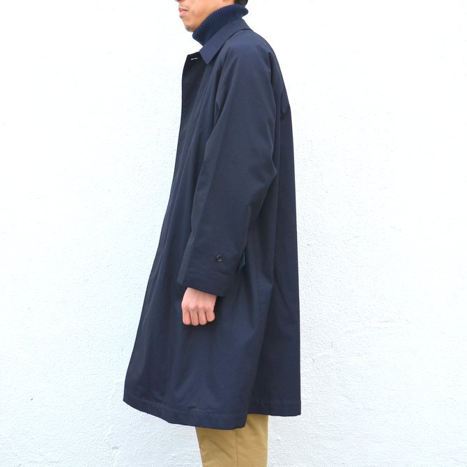 ANATOMICA(アナトミカ)/ SINGLE RAGLAN COAT GABARDINE -(500)NAVY- #530-511-06(4)
