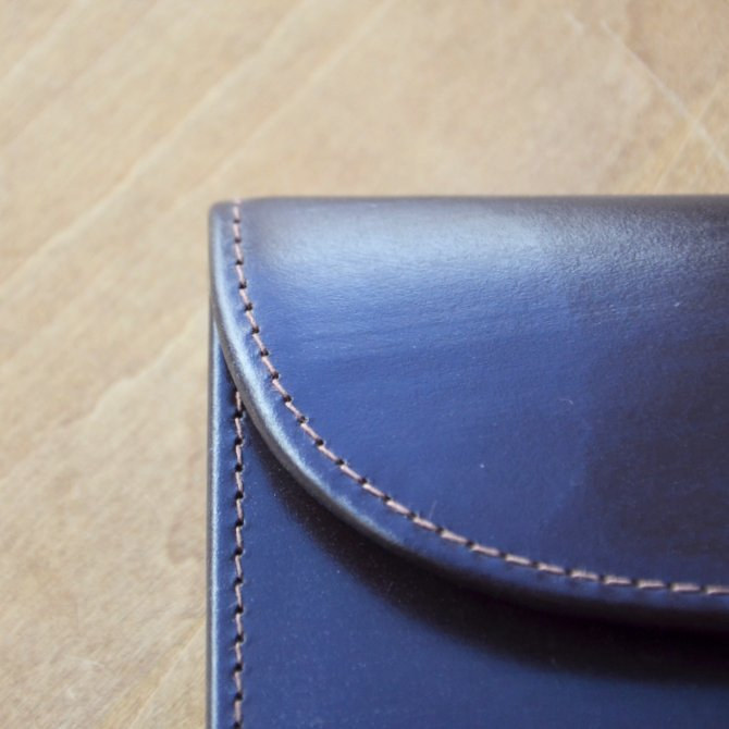 Whitehouse Cox (ホワイトハウスコックス)  3FOLD WALLET BRIDLE S7660 -HAVANA-(4)