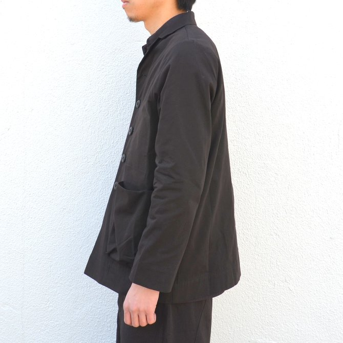 too good(トゥーグッド) / THE PHOTOGRAPHER JACKET PLAIN COTTON -SOOT-(4)