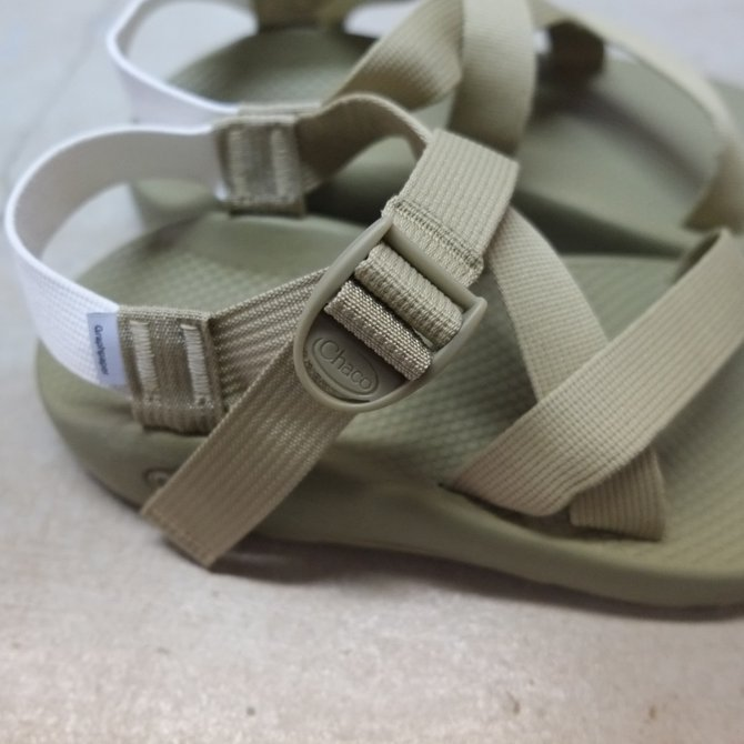 Graphpaper(グラフペーパー)×Chaco(チャコ) Chaco for Graphpaper Sandals  - GREIGE - #GM17-S-601(4)