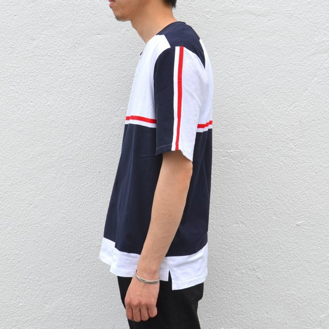 【40% off sale】semoh(セモー)/ S/S TEE -BORDER- #11-3-02(4)