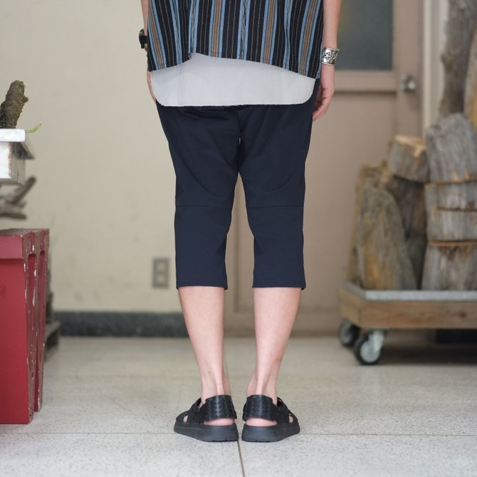 South2 West8(サウスツーウエストエイト) Cropped Boulder Pant [Poly Elastic Taffeta] -NAVY-  #CH767(4)