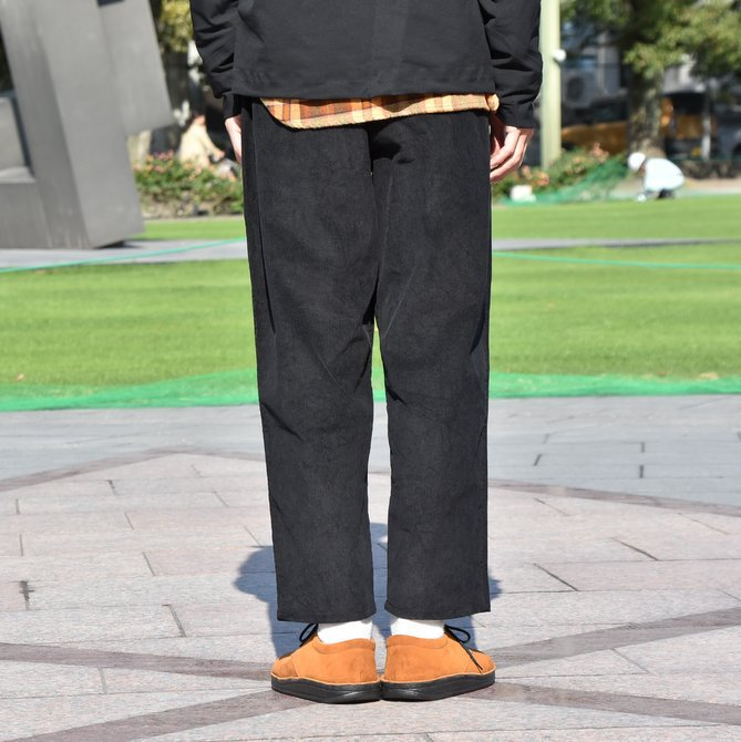 South2 West8(サウスツーウエストエイト) Army String Pant  [14W Corduroy] -BLACK-  #DI816(4)