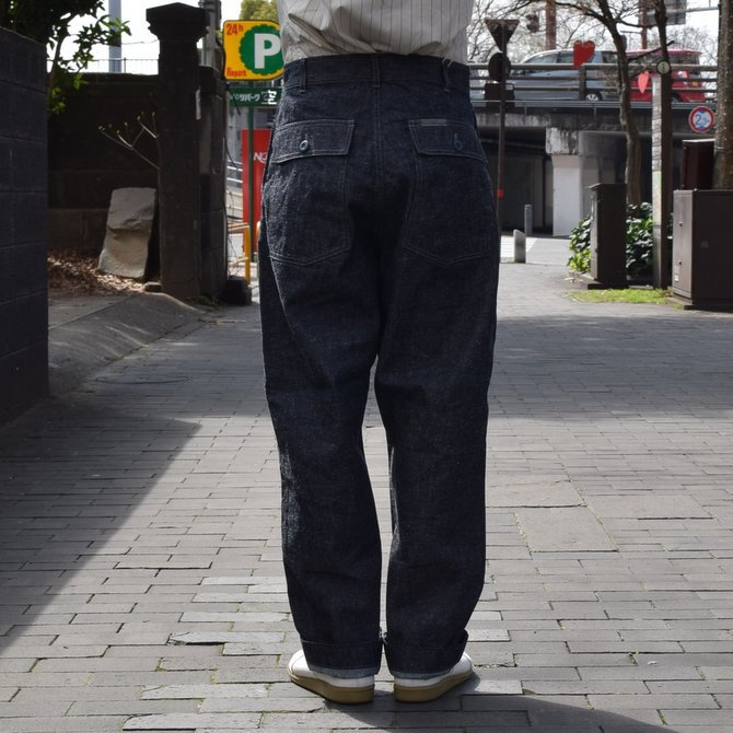GOURMET JEANS(グルメジーンズ) FATIGUE -INDIGO- #GR-KH 003(4)