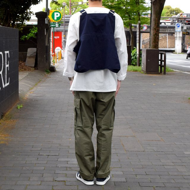 【2019 SS】BROWN by 2-tacs SEED IT -NAVY- #B21-V002(4)