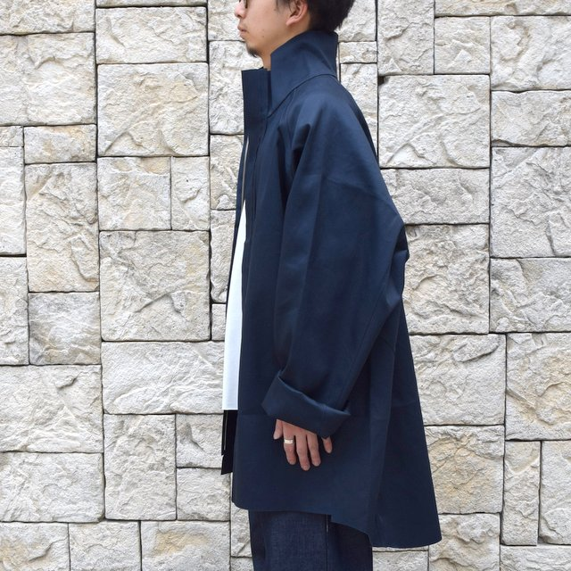 【30% off sale 】 CAMIEL FORTGENS(カミエル フォートゲンス)/FOOTBALL COAT RUB MACKINTOSH(4)