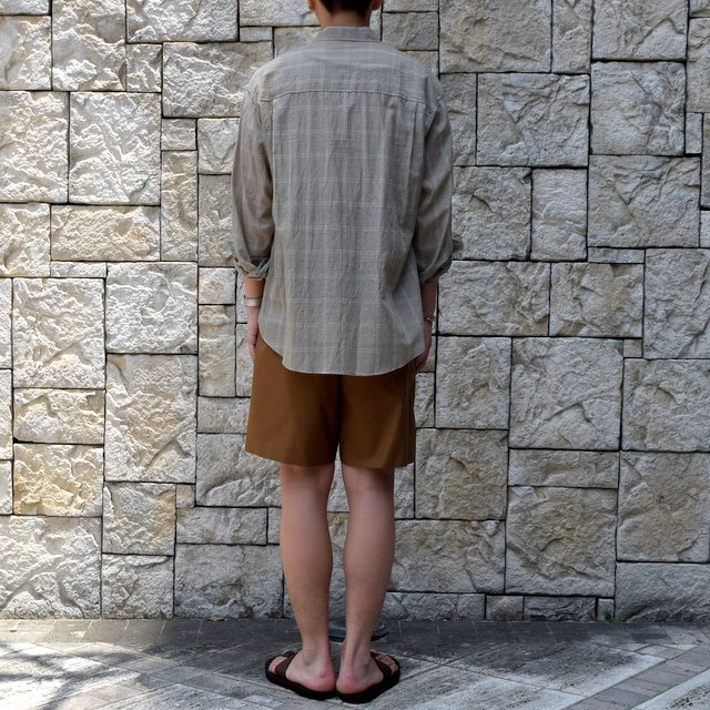 【2019 SS】AURALEE(オーラリー)/ LIGHT FINX POLYESTER SHORTS -2色展開-#A9SP03PW(4)
