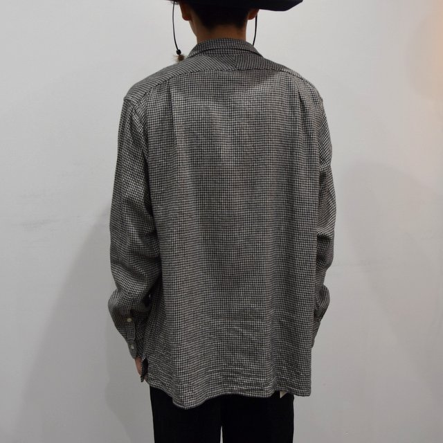 【2019 AW】 MOJITO(モヒート)/ ABSHINTH SHIRT Bar.2.0 -HOUNDS TOOTH (09)- #2094-1101(4)